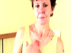 Ugly mature hoe is so thin and she likes part2