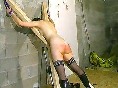 Bare ass whipping