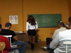 Lehrer's Klassenzimmer Bukkake