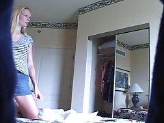 Room mate Hidden Voyeur Camera