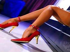 Prezentácie nohy a pantyhose