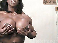 سیاه پوست, زن عضلانی