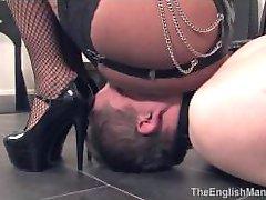 English Mansion - Mistress Emma Femdom Human Ashtray