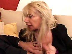 FRANZÖSISCHE REIFEN n40 blonde hässlich Mütter vieille salope