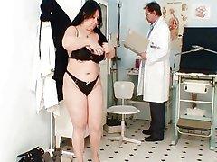 Big tits fat mom Rosana gyno doctor