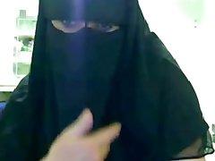 sotie de musulman's superb, sâni și uimitoare feetjob