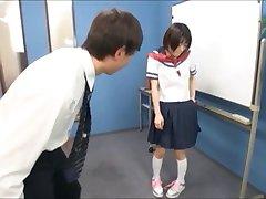 Diaper school girl