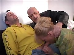 German whore fucked up by crooked cops