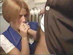Megan teen getting nailed by caretaker