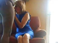 Vanemad naised saab nikutud oma musta väljavalitu