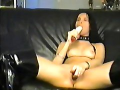 Tina Tigue Mega Toys Leather Slut