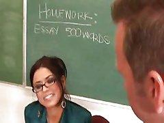 Eva Angelina is a teacher with tits pt1