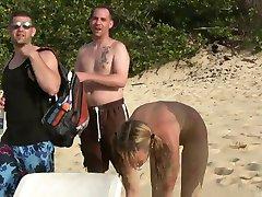 tarde de playa con las amigas