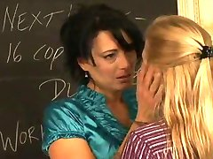 Girls in Love - Payton and Zoe, Mature Lesbian Teachers
