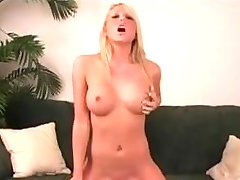 Hot Blonde Squirts on Sybian