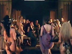 Σπάρτακος: Όργιο σκηνή 01