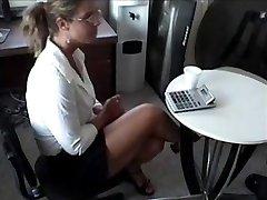 Job Interview Wank