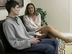 jenny jerky ladies wrinkled soles handjob pop-shot