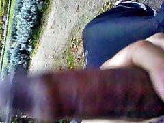 Veřejné dickflash a honění - 03 - Dick Blikající