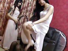 китайское поклонение ног