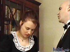 This slut got punished
