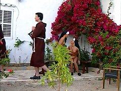 イタリアの司祭と尼僧jk1690