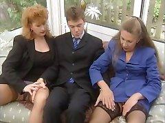 Старушки Экстрим - Старая Stuten протоколу Hart geritten