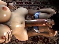 Mix & Samsvarer med del 1 (3D Futanari samling)