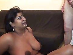 BBW Groep Seks #2 (Vreemdgaan Chubby MILF Indiase Vrouw Keert terug)