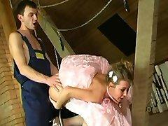 Bruden før bryllupet anal