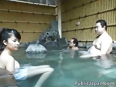Asian babe is a hot chick getting felt part2