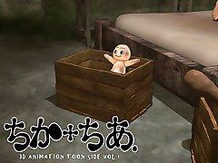 3D-teen Baise! - Chika et Encourager (Nekoken)