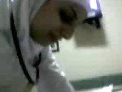 arabisk sykepleier suge kuk