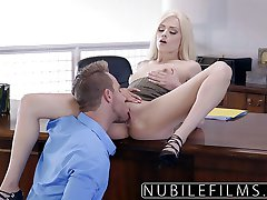 Elsa Jean Dod Boss Netīrs Blowjob
