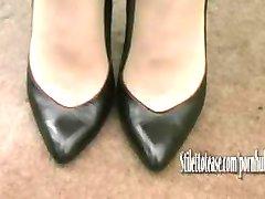 गर्म, पुरुषों के बुत में महिलाओं के लिए सुरुचिपूर्ण यौन उच्च ऊँची एड़ी के जूते
