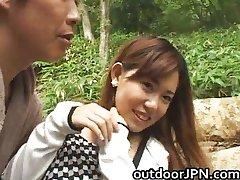Любительские красивые Азиатские девушка трахал
