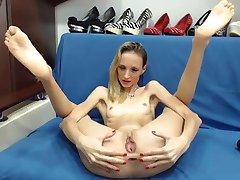 Skinny Webcam meisje 345