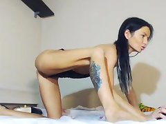 Hot Squirty Koningin op Cam