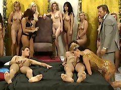Impressionnante orgie