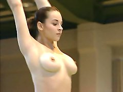 Çıplak Jimnastikçi Corina Ungureanu TAM VİDEO