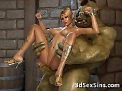 Skapninger Bang 3D Prinsesser!