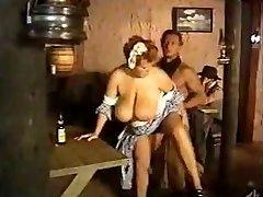 Maid massive boobies