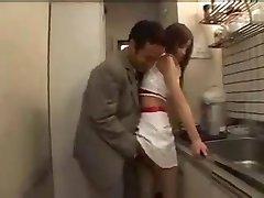 Japanese girl in mini skirt