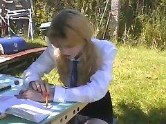Claire etudiante defoncee no Dobbeltrom A75