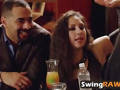 Swinger couples drinking reality show