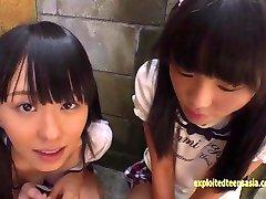 Mała Jadę Nastolatek Uczennice Рины I Asami