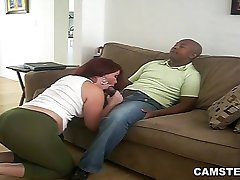 Black BF Got Seduced by Big Ass Latin GF