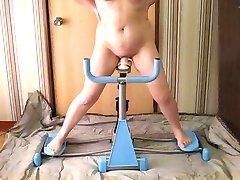Cvičenie stroje pre manželku
