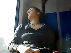 TRAIN  UPSKIRT