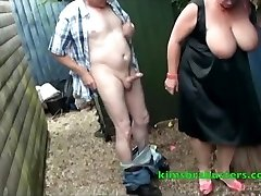 Пятно в саду для бабули Ким
